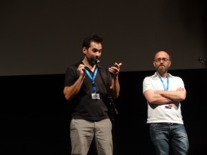 Luc Otter y Claude Grosch presentan su corto en Seminci