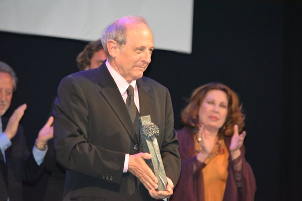 premio a Emilo Gutiérrez Caba